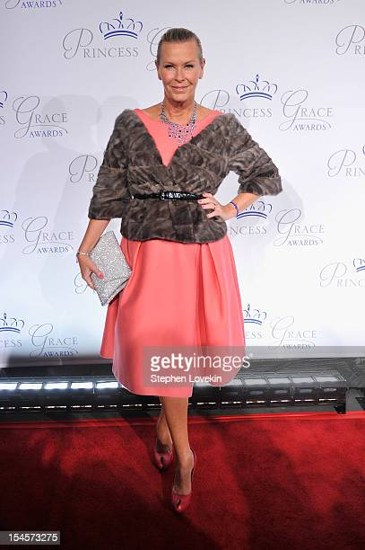 Efva Attling attends the 30th anniversary Princess Grace awards gala at Cipriani 42nd Street on October 22 2012 in New York City