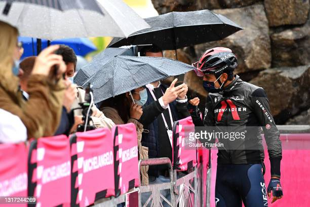 Egan Arley Bernal Gomez of Colombia and Team INEOS Grenadiers at start during the 104th Giro d'Italia 2021, Stage 3 a 190km stage from Biella to...
