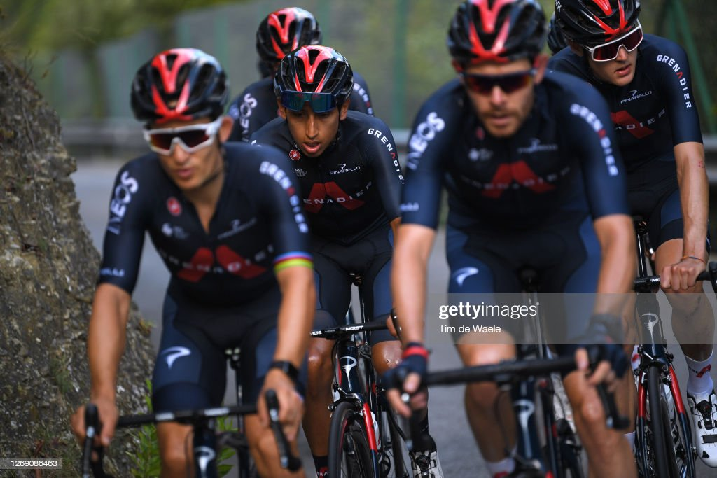 107th Tour de France 2020 - Team INEOS Grenadiers - Training : News Photo