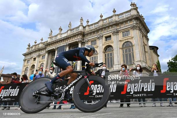 Egan Arley Bernal Gomez of Colombia and Team INEOS Grenadiers during the 104th Giro d'Italia 2021, Stage 1 a 8,6km Individual Time Trial stage from...
