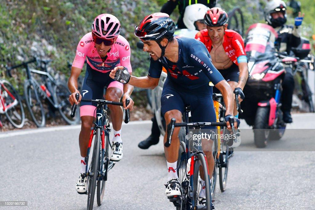 104th Giro d'Italia 2021 - Stage 17 : Photo d'actualité