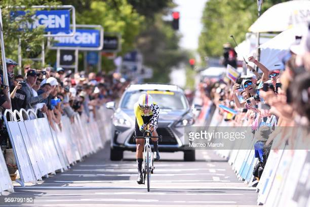 Egan Bernal Gomez of Colombia and Team Sky rides during stage four of the 13th Amgen Tour of California 2018 San Jose / Morgan Hill a 347 km...