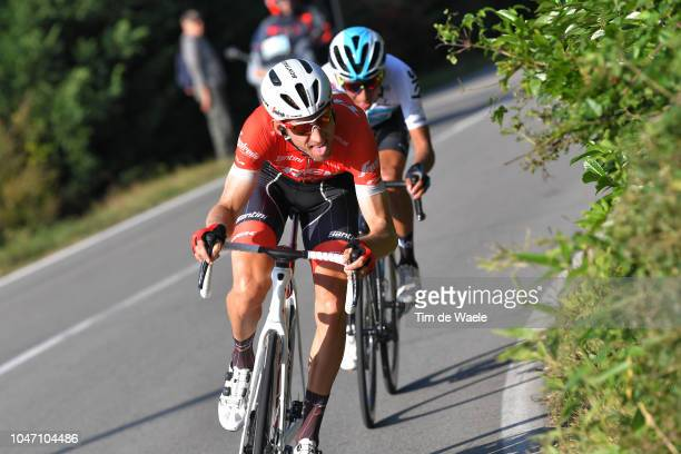 Egan Bernal of Colombia and Team Sky / Bauke Mollema of Netherlands and Team Trek-Segafredo / during the 23rd Gran Premio Bruno Beghelli 2018 a...