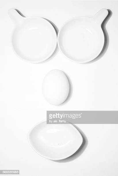 Egg and bowls