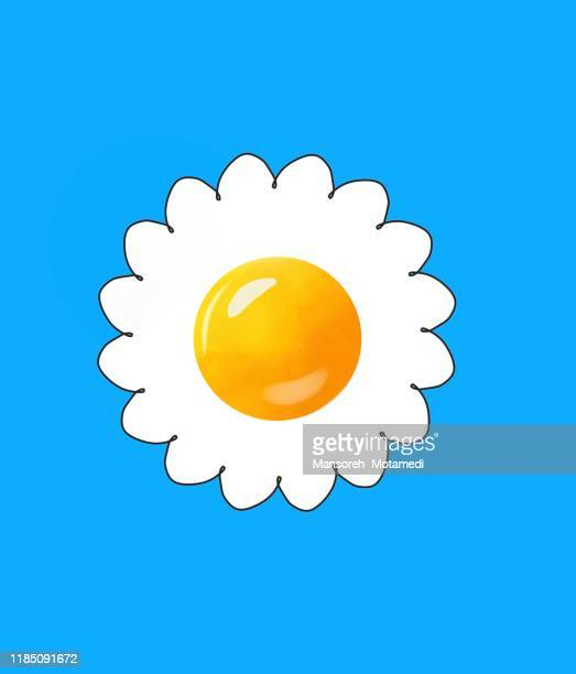 egg cartoon - breakfast cartoon stock pictures, royalty-free photos & images