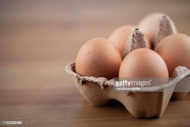 egg cup full of eggs - frescura stock pictures, royalty-free photos & images