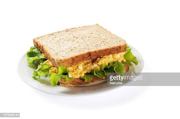 Sandwich oeuf mayonnaise