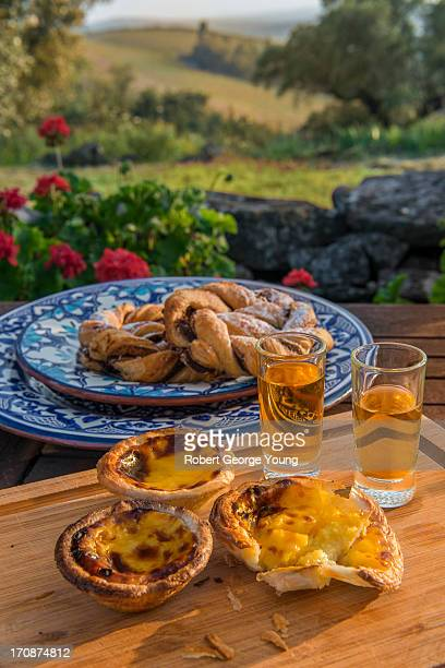 Egg Tarts, Muscatel, Pastries in Portugal