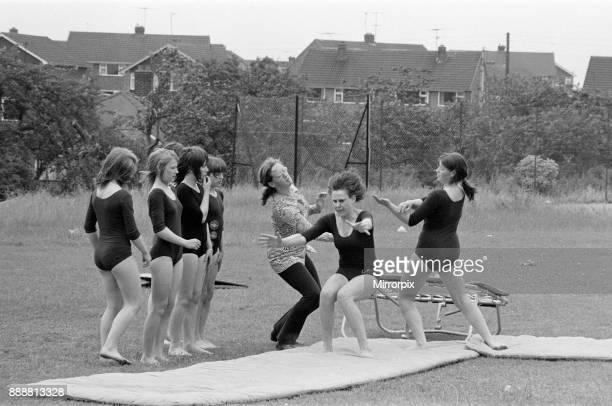 Egglescliffe Comprehensive School Garden Party, Stockton, 1972.