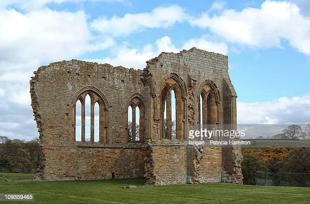 egglestone abbey - deterioration stock pictures, royalty-free photos & images