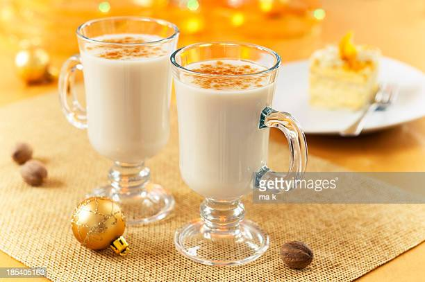 eggnog - eggnog stock photos and pictures