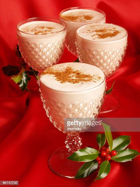 eggnog vertical - eggnog stock photos and pictures