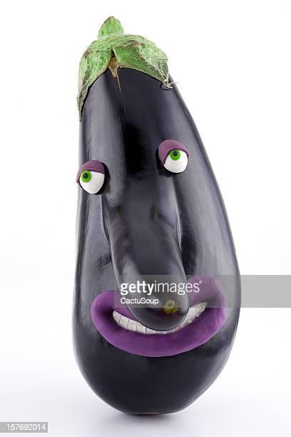 Eggplant big nose