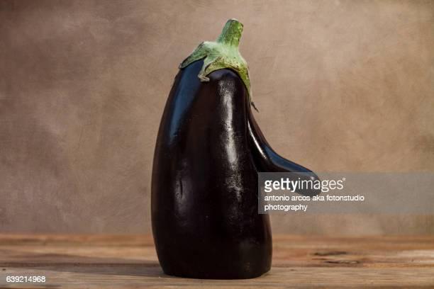 Eggplant Portrait