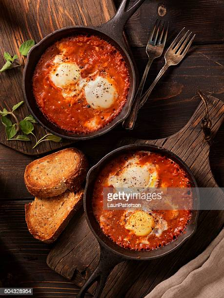 Eggs Baked in Spice Tomato Sauce