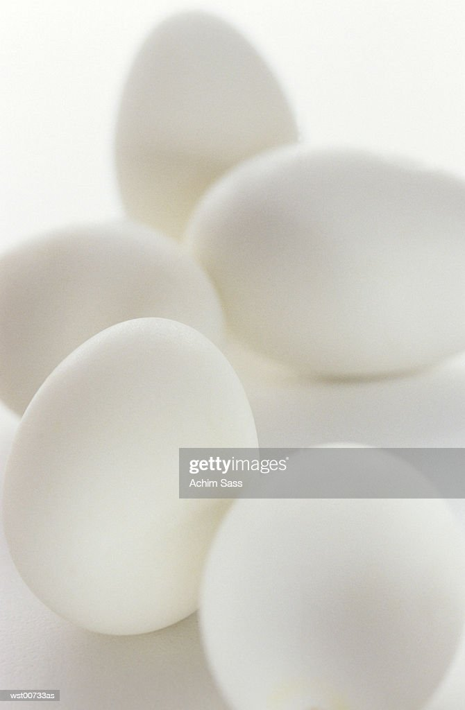 Eggs, close up : Stock Photo