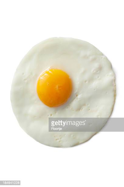 eggs: fried egg - fried eggs stock pictures, royalty-free photos & images