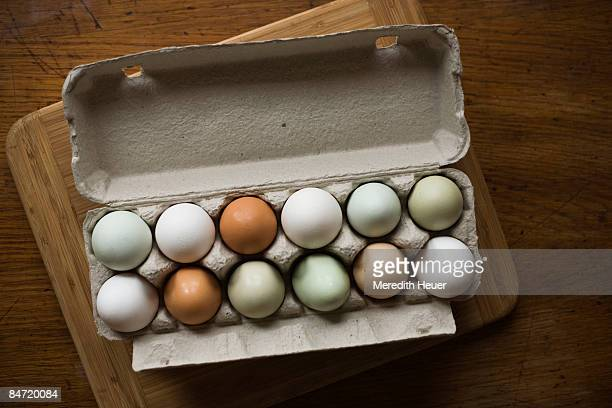 eggs in egg carton