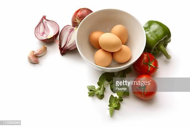 Eggs: Omelet Ingredients