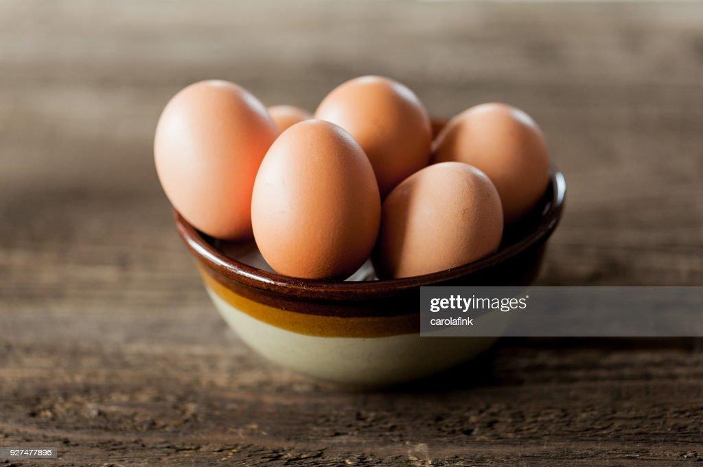 Eggs : Stock-Foto