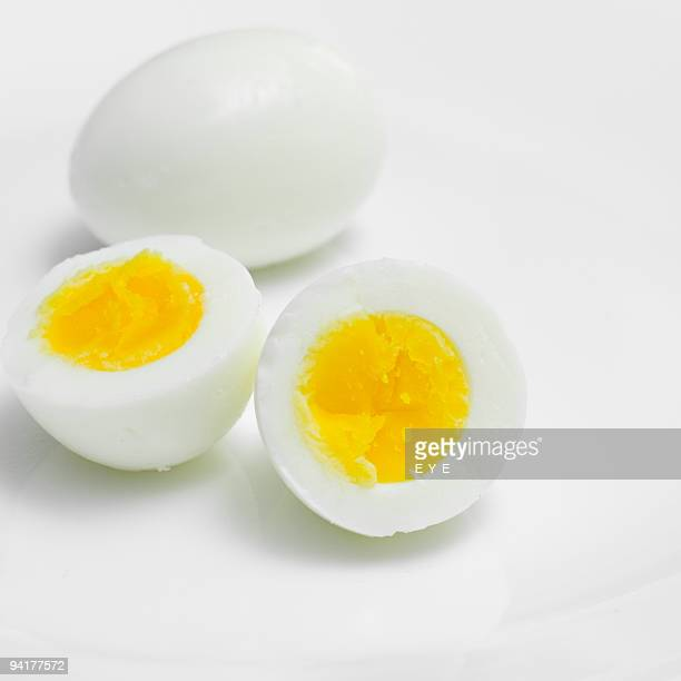 eggs - hard boiled eggs stock pictures, royalty-free photos & images