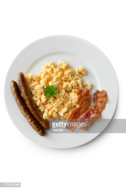 Eggs: Scrambled Egg, Bacon and Sausage