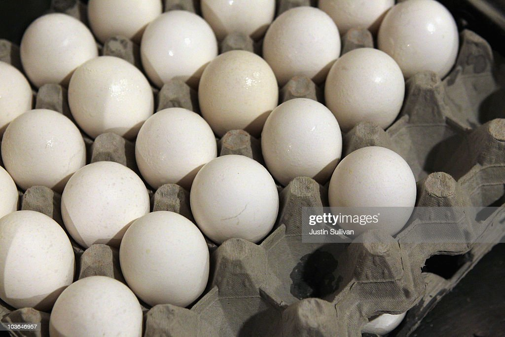 Egg Prices Rise 40 Percent After Major Salmonella Outbreak : News Photo