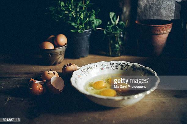 eggs-pie making - sarri stock pictures, royalty-free photos & images