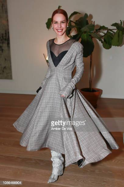 Eglantina Zingg attends GOLEADORAS Celebrates United Nations Global Goals World Cup Winners at Private Residence on October 17, 2018 in New York City.