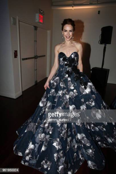 Eglantina Zingg attends the 2018 Glasswing International Gala at Tribeca Rooftop on April 26 2018 in New York City