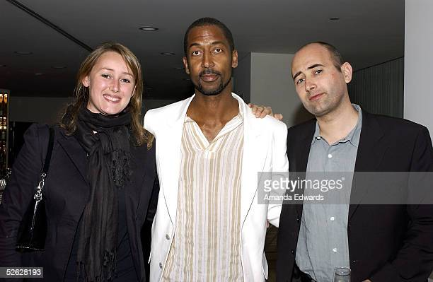 Eglantine Langevin Trey Ellis and Director Laurent Tirard attend the post screening party for the 9th Annual City of Lights City of Angels Film...