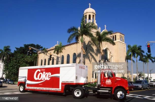 Eglise Saint Edwards de Palm Beach en Floride Etats-Unis.