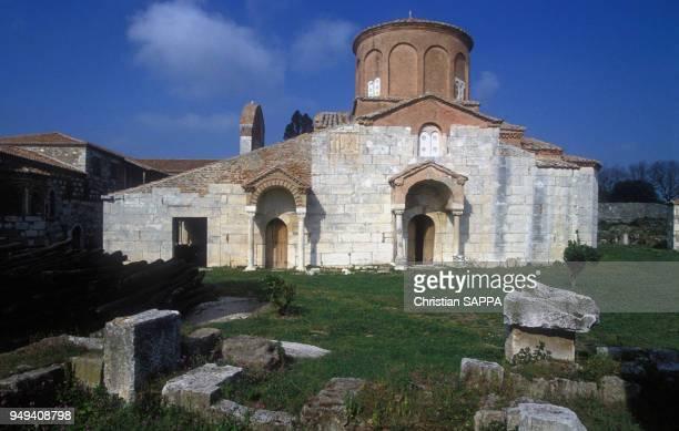 Eglise Sainte Marie à Appolonia en Albanie