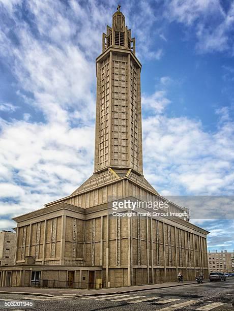Eglise Saint-Joseph by Auguste Perret - Le Havre -
