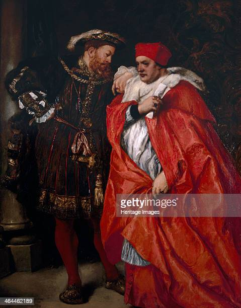 'Ego et Rex Meus' 1888 King Henry VIII talking with Cardinal Thomas Wolsey Wolsey dominated King Henry VIII's government from 1515 to 1529
