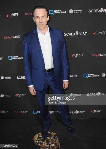 Ego Mikitas arrives for the Screamfest LA Opening Night Screening Of 'The Amityville Murders' at TCL Chinese 6 Theatres on October 9 2018 in...
