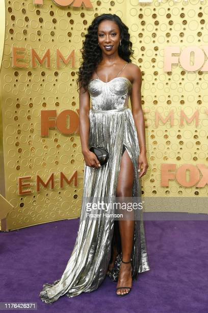Ego Nwodim attends the 71st Emmy Awards at Microsoft Theater on September 22 2019 in Los Angeles California