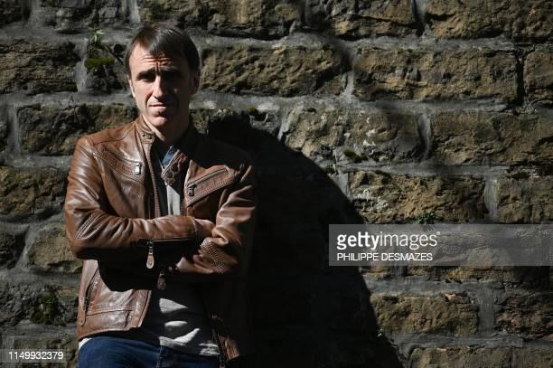 Egoitz Urrutikoetxea son of ETA member Josu Ternera poses on June 13 in Lyon
