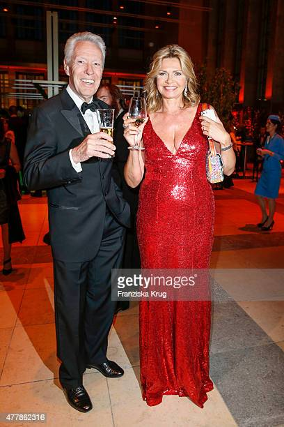 Egon F Freiheit and Maren Gilzer attend the German Film Award 2015 Lola show at Messe Berlin on June 19 2015 in Berlin Germany