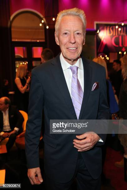 Egon F Freiheit during the BUNTE BMW Festival Night 2018 on the occasion of the 68th Berlinale International Film Festival Berlin at Restaurant...