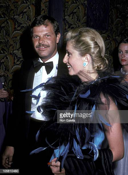 Egon Von Furstenberg and guest during Dior Benefit For The Hospital For Special Surgery at Waldorf Astoria in New York City New York United States