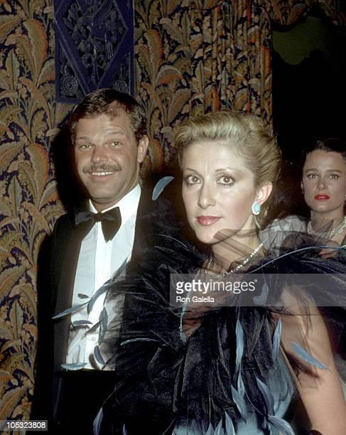 Egon Von Furstenberg and guest during Egon Von Furstenberg Sighting January 11980 in New York City New York United States