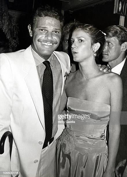 Egon von Furstenberg and Guest during Gala ReOpening of Studio 54 at Studio 54 in New York City New York United States