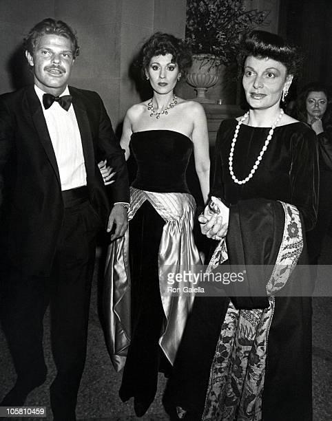 Egon von Furstenberg Lynn Marshall and Diane von Furstenberg