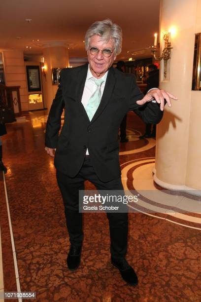 Egon Wellenbrink father of Nico Santos during the Audi Generation Award 2018 at Hotel Bayerischer Hof on December 11 2018 in Munich Germany