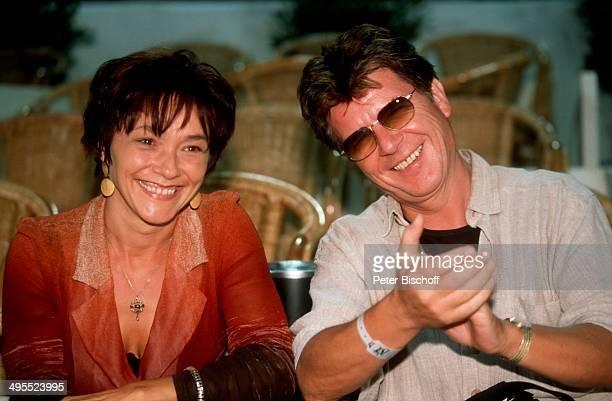 Egon Wellenbrink und Ehefrau Lisa bei Tennisturnier Mallorca Open am Stierkampfarena in Palma de Mallorca auf Mallorca Spanien