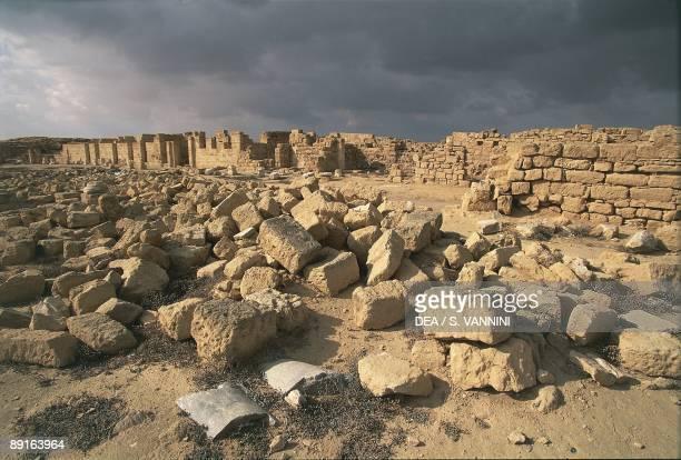 Egypt Abu Mina Ruins of ancient city