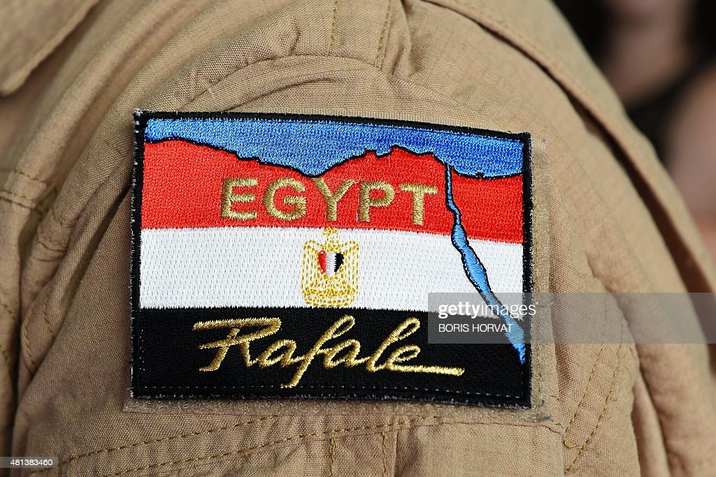 FRANCE-EGYPT-EXPORTS-ARMAMENT-WEAPONRY-DIPLOMACY : News Photo