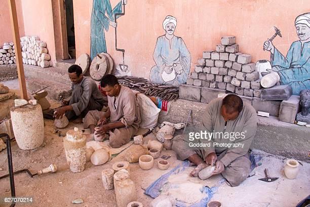 Egypt: Alabaster Carving