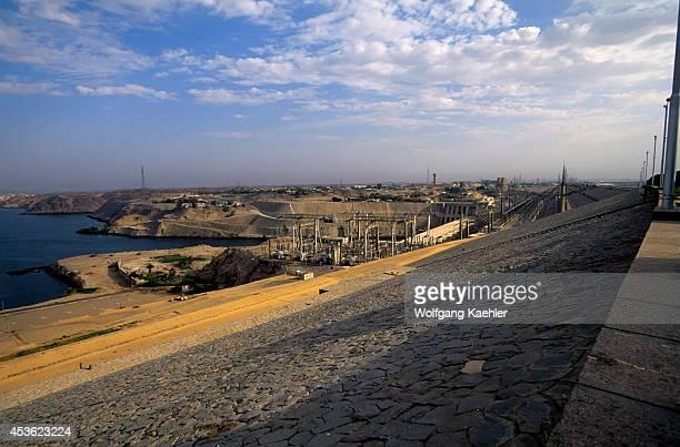 Egypt Aswan High Dam View From Dam